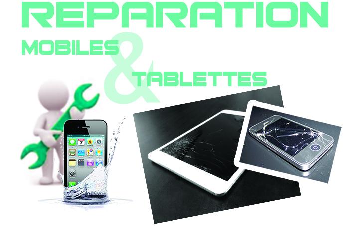 Réparation téléphones et tablettes